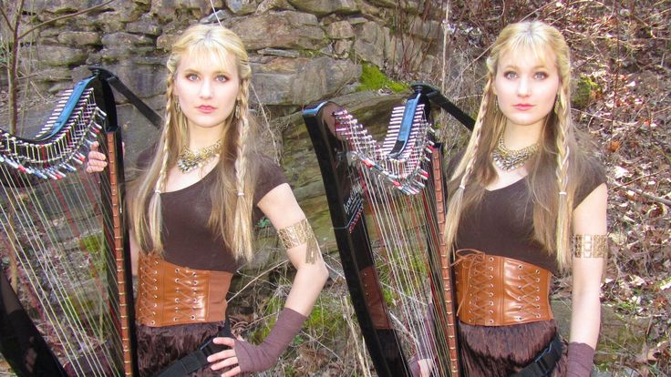 The Rains of Castamere: Game of Thrones (Harp Twins) Camille and Kennerly