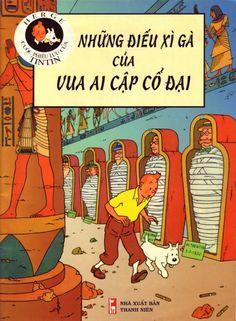 Couverture de Tintin (en langues étrangères) -4Vietnamien- Những điếu xì gà của vua Ai Cập cổ đại