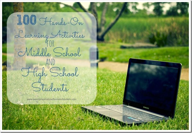 100 Hands-On Activities for Middle School and High School