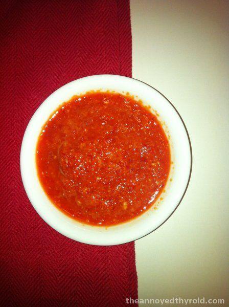 Thermomix Hainanese Chilli Sauce