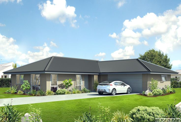 Zircon - 160sqm If you are looking for generous parking space and good sized bedrooms, then this plan ticks all the boxes. The separate entry and great little study nook, with laundry in the attached double garage, delivers maximum compact modern living.