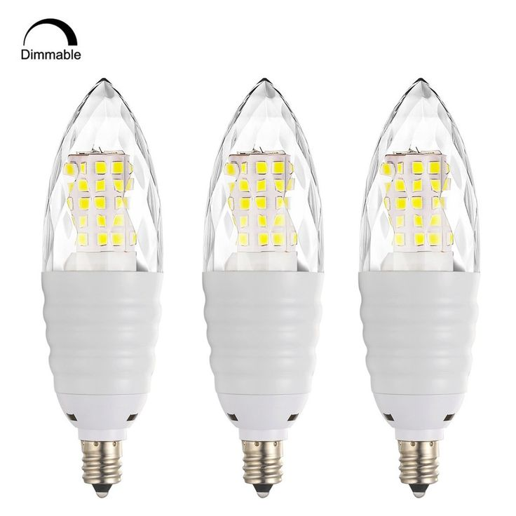 Bogao (3 Pack) Dimmable E12 LED Candelabra Bulb, 12W LED Candle Bulbs, 80-100 Watt Light Bulbs Equivalent, E12 Candelabra Base, 1200 Lumens LED Lights,Torpedo Shape ( RBZS Warm White 3000K )