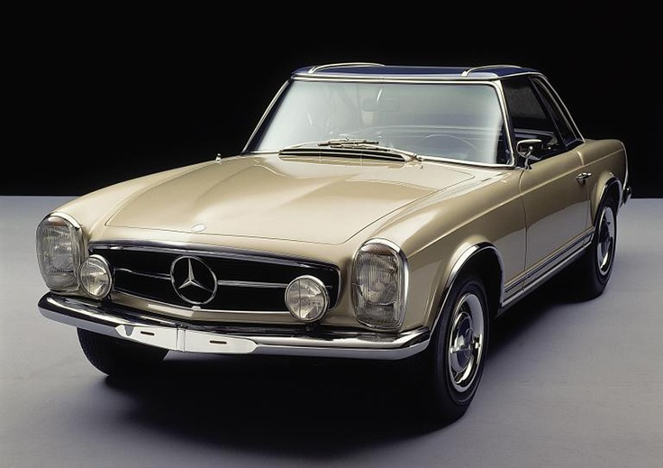 Mercedes SL- I love the lines of the Pagoda!