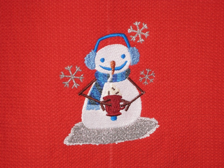 Embroidered for grandson.  Towel was bought from embroiderthis.com ( a great sight) and the design is from Embroidery library (another great sight).