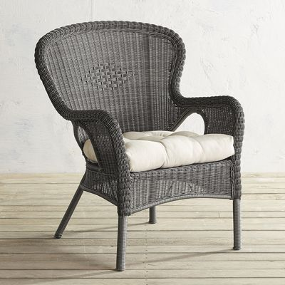 Coco Cove Gray Armchair   Pier 1 Imports