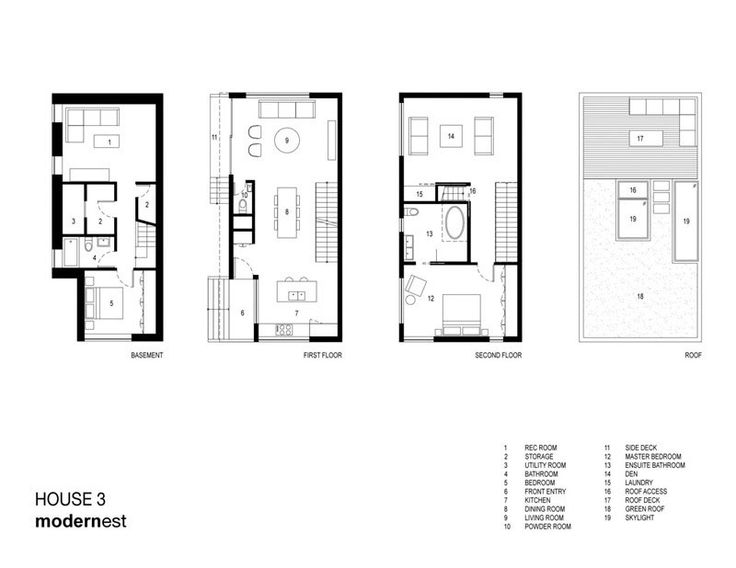 544 best images about floor plans on pinterest for Toronto house plans