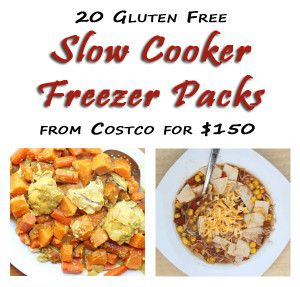 20 Slow-Cooker Freezer Packs from Costco for $150. Each freezer bag feeds 4