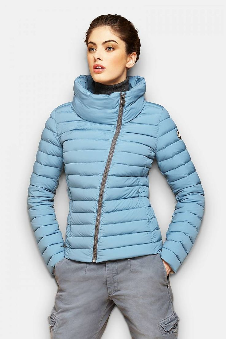 Colemar Women's stretch nylon down jacket