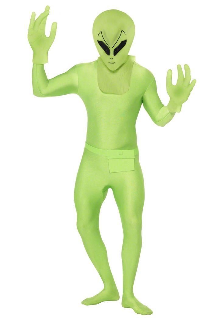 Green Alien Suit