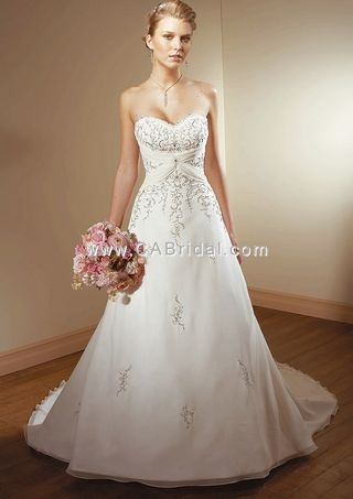 Mori Lee -  2105: Scripts, Ideas, The Knot, Gowns A Lin, Bridal Gowns