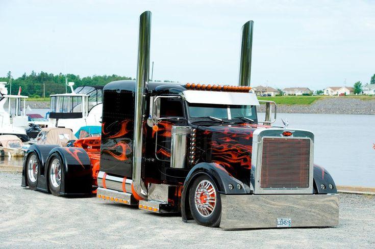 Big Rig Monster Stacks : Best images about big rig show trucks on pinterest