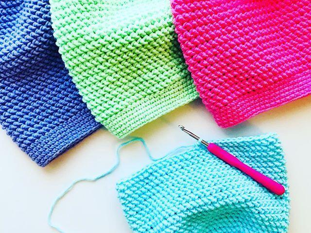 Feeling springy today with these amazing new colours!! Which one is your fav??      #etsy @etsy @etsyca #handmade #crochet #handmadelive #yarnpreneaur #yarnstash #springwear #winterwear #crochetslouchy #springcoulors #crochetersofinstagram #instacrochet #maker #makersgonnamake #makestuff #lovecrochet #boyecrochethooks