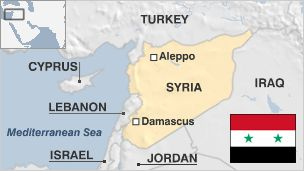 Map of Syria Once the centre of the Islamic Caliphate, Syria covers an area that has seen invasions and occupations over the ages, from Romans and Mongols to Crusaders and Turks.