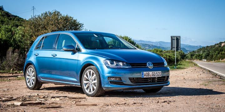 Testing the new VW Golf 7