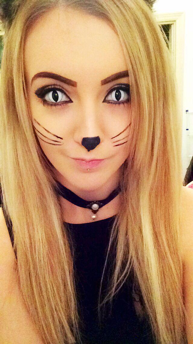 16 Best images about Cat Makeup & FX Contacts on Pinterest ...