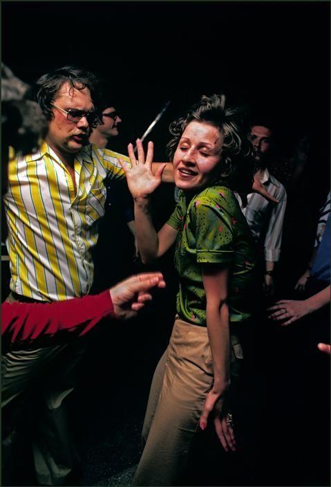 Modern dance in a city night club, Odessa, Ukraine, 1982 by Ian Berry
