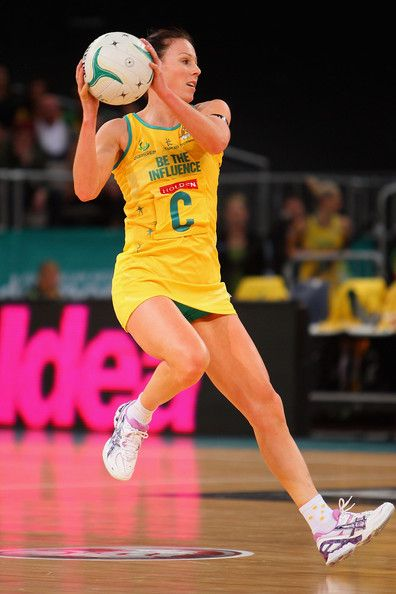 Photos of Nat Von Bertouch during her netball career.