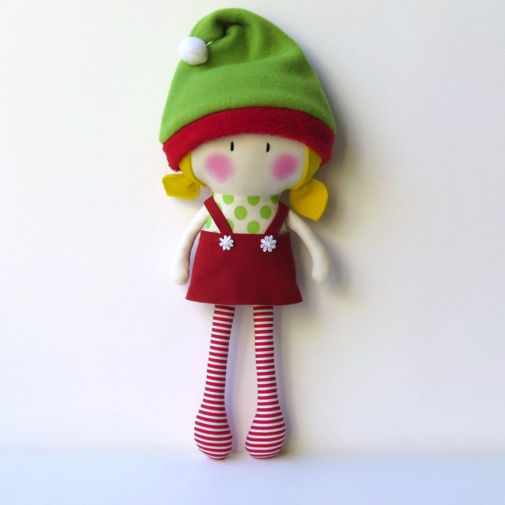 Cook You Some Noodles — My Teeny-Tiny Christmas Doll® - Hayley