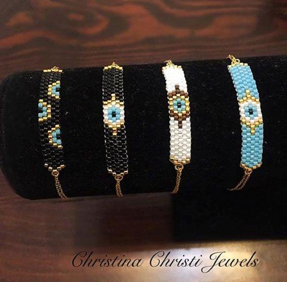 Evil Eye Bracelets Gold 24k Bracelets Evil by ChristinaChristiJls