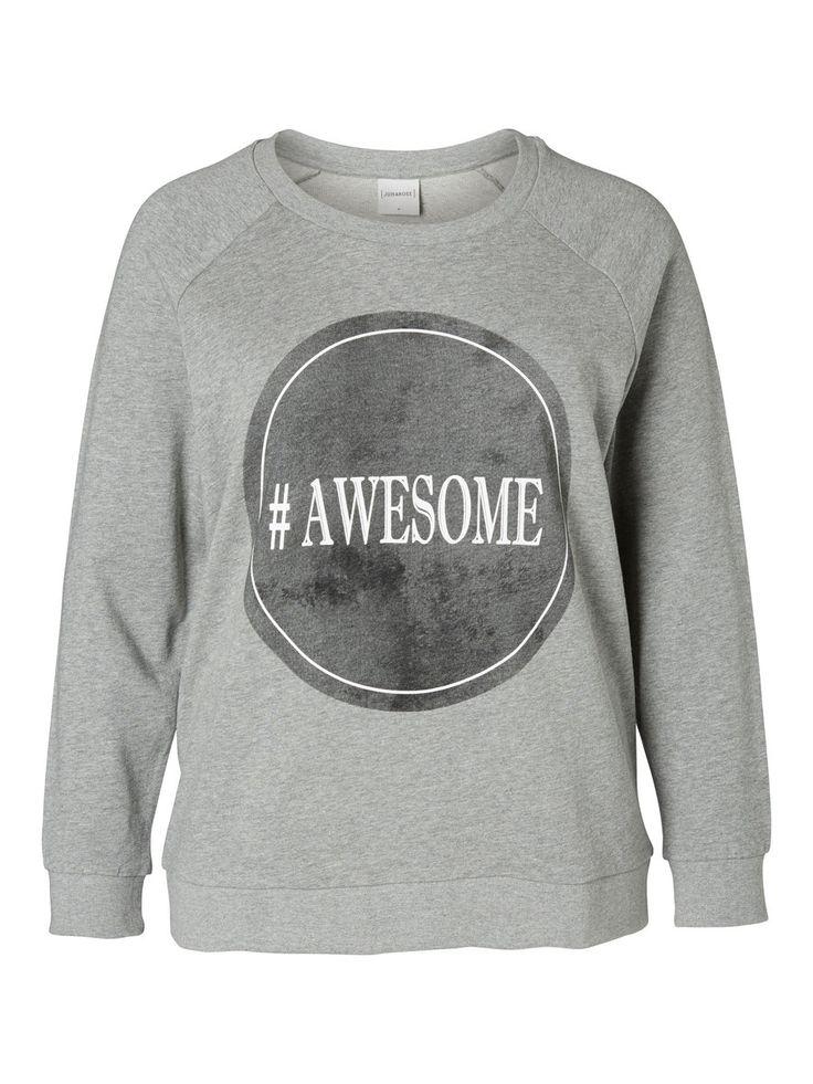 Plus size sweatshirt from JUNAROSE #junarose #plussize #sweatshirt #backtoreality