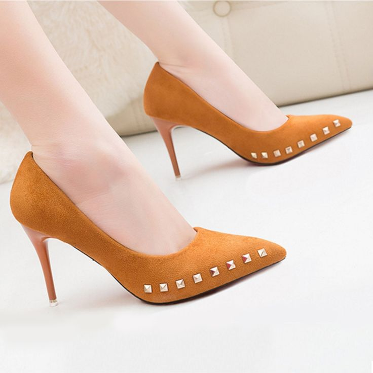 SARAIRIS 18 Women Pumps Brand Women Shoes High Heels Sexy Pointed Toe Shallow Party Wedding Shoes #weddingshoes