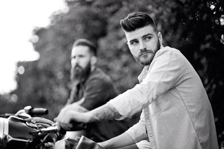 #triumphbonneville #nortoncommando #deuscustoms #sevenwolves #beards