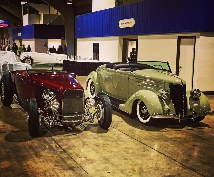 we have arrived #gnrs2016 #32roadsterpickup #36roadster #longbeachlegend #hollywoodhotrods #respecttradition #hotrodsrule #downtothewire (at Pomona Fairgrounds)
