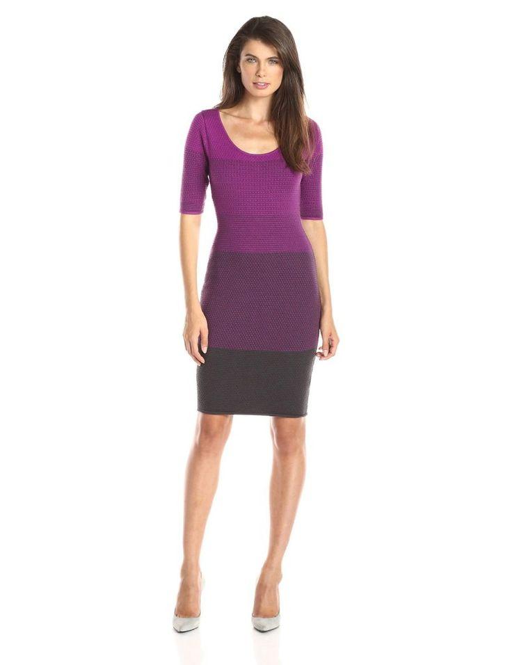 NYDJ Women's Adalyn Ombre Sweater Dress
