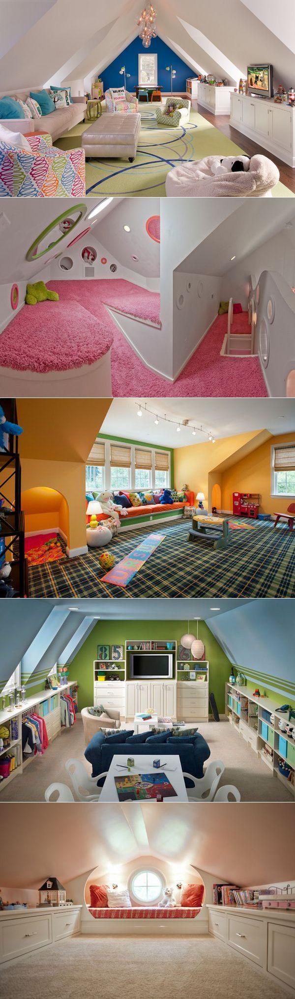 . Teen PlayroomAttic PlayroomPlayroom IdeasAttic ...