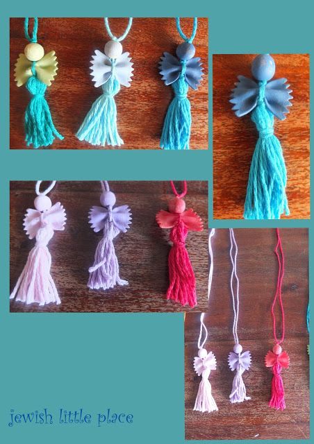 lekhayim: Collane di pasta - pasta necklaces