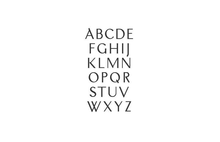A — Typeface on Behance