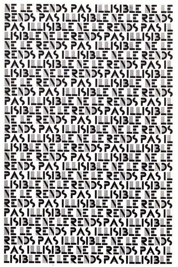 La police de caractères BIFUR, créé en 1925 par Adolphe Jean-Marie MOURON, dit CASSANDRE (1901-1968).