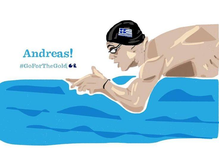 Andreas Vazaios | Swimmer  #TeamHellas_Rio2016 #OlympicGames2016