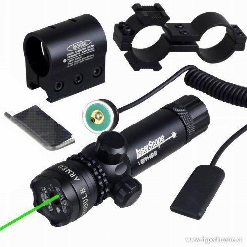 Armed Forces laserový zaměřovač na zbraň 5mW zelený - Armed Forces laserový zaměřovač na zbraň 5mW zelený POŠTOVNÉ 119,-CZK Popis: Kvalitní celokovový laserový zaměřovač z leteckého hliníku s povrchovou úpravou Elox - odolné vůči škrábancům. Vhodný pro všechny typy vzduchových zbraní, mnoho druhů airsoftových zbraní a pušky. Vlnová délka laseru 532nm (zelený), výkon reálných 5mW, paprsek je v noci 100% viditelný, v některých případech i přes den. Efektivita zamíření na max. 400m . Paprsek je…