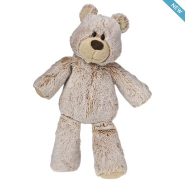 Marshmallow Teddy from Mary Meyer.  Available now at Bobangles.  #MaryMeyer #plush #toy #kids #cute #Australia #teddy