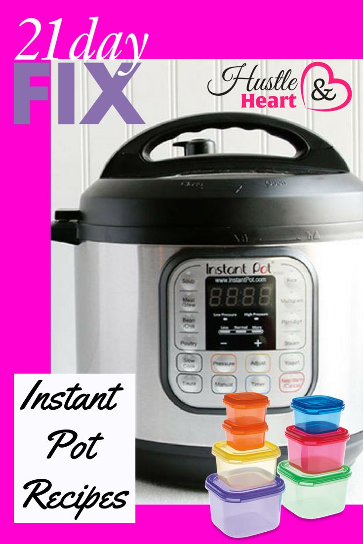What could make the 21 Day Fix program even better? Easy to follow Instant Pot meal plans and tons of mouthwatering recipes- that's what!So- why should you jum