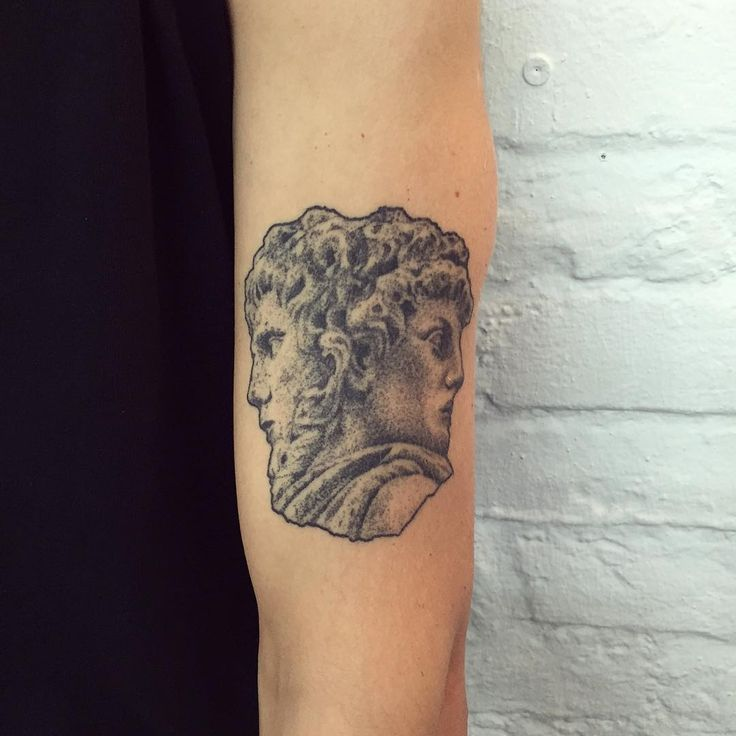 """Healed Janus on Simon #tattoo #janus"""