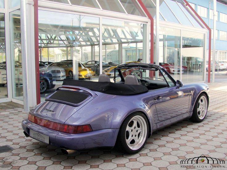 Porsche 964 Carrera Cabrio Werks Turbo Look - WTL - Auto Salon Singen