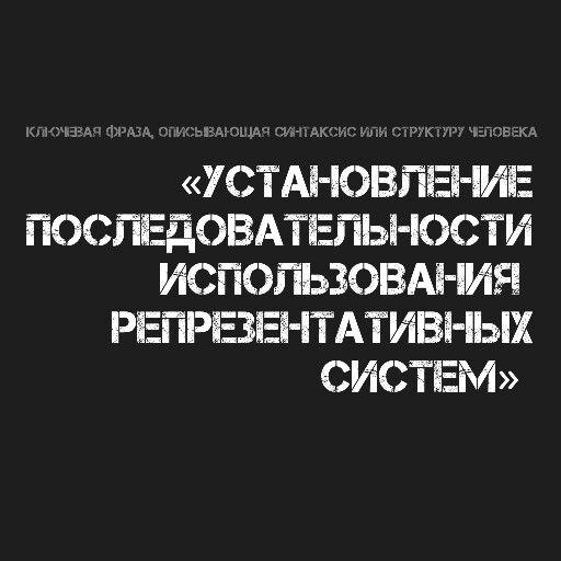 Синтаксис или структура человека