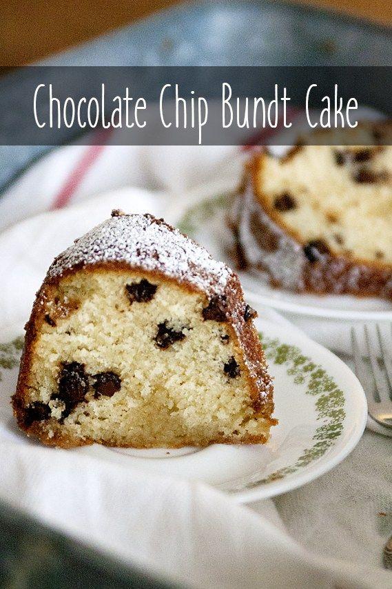 Sour Cream Chocolate Chip Bundt Cake Recipe Chocolate Chip Bundt Cake Sour Cream Cake Chocolate Chip Cake