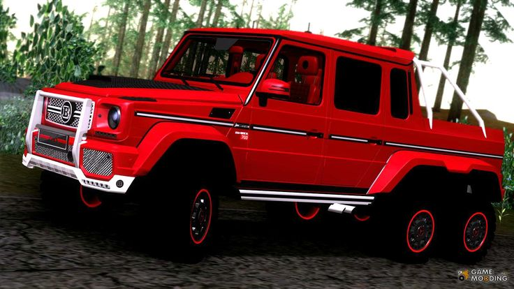6x6 g wagon autos post - Classe g 6x6 ...