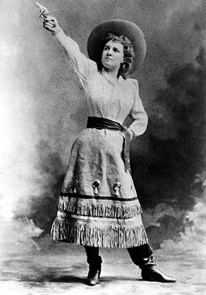 Annie Oakley began trapping at a young age, shooting, and hunting by age  eight to support her siblings and her widowed mother. She sold the...