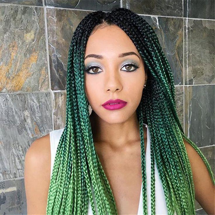 77 best box braids hair images on Pinterest | Braid hair ...