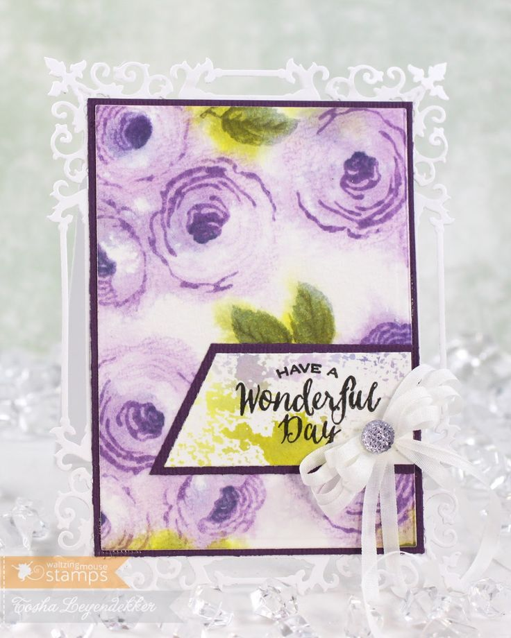 Stamp Talk with Tosh: Waltzingmouse Dec. Release ~ Old Country Roses