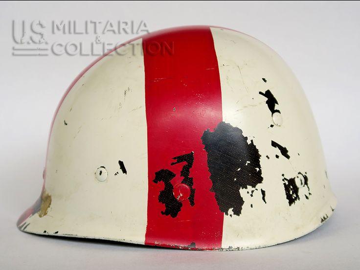 Casque m1 sur pinterest uniformes allemands ww2 uniformes et liner de casque m1 dorigine seconde guerre mondiale dun infirmier du corps mdical de larme amricaine une grande croix rouge est peinte sur le altavistaventures Choice Image