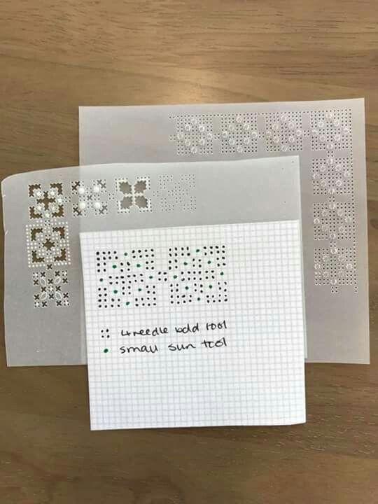 Rossella's grid work tutorial