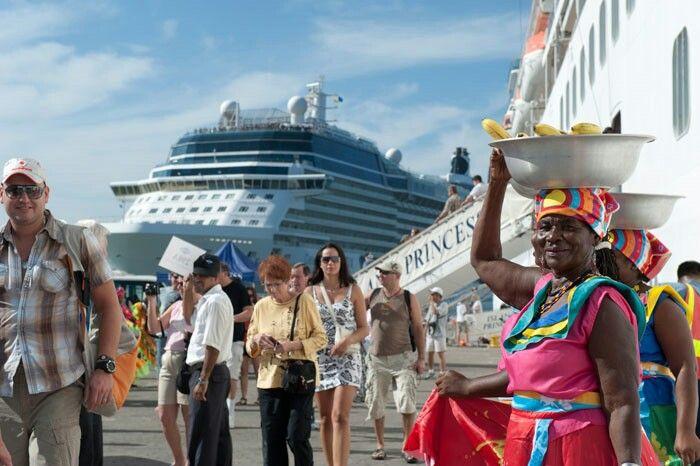 Llegada de cruceros!!!Cartagena Colombia