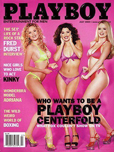Playboy July 2002 Lauren Anderson Adriana Fred Durst Chris Isaak  -VG