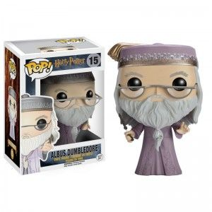 Figurine Harry Potter - Albus Dumbledore Wand Pop 10cm