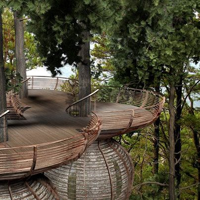 30 Tree Perch and Lookout Deck Ideas Adding Fun DIY Structures to Backyard…